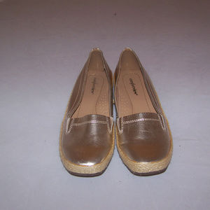 Comfortview Gold Flats (loafers)